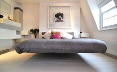Fluttua Floating Bed by Daniele Lago | Floating bed, Bedrooms and ...