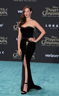 Kaya Scodelario on the premiere of the Pirates of the Caribbean