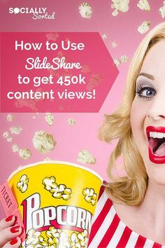 How to Use SlideShare to Attract 450k Views of Your Content via @sociallysorted #SlideshareMarketing #SlideShare #Marketing #Business #SocialMedia #LeadGeneration #Lead #SEO #SmallBiz #B2B #Rankings #SmallBusiness