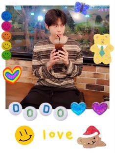 Polaroid Decoration, Kpop Backgrounds, Mini Drawings, Use E Abuse, Nct Doyoung, Nct Taeyong, Kpop Merch, Bullet Journal Inspiration, Jaehyun