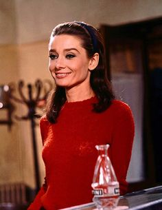 Audrey Hepburn in 'Two for the Road', 1967.
