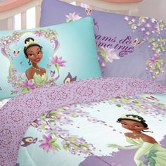 The Princess and the Frog- Sunset Dreams Sheet Sets . $27.99