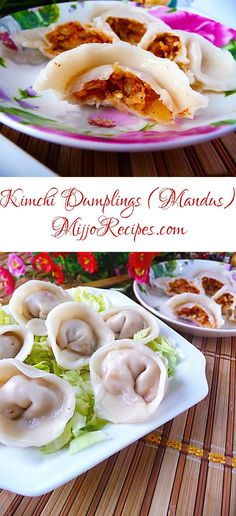 ... dumplings are the best. Try this vegetarian kimchi dumplings! #foodie