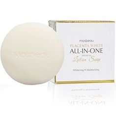 Authentic Mosbeau Placenta White AllInOne Whitening Facial Soap *** You can get more details by clicking on the image.