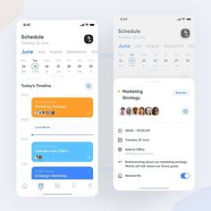 What's your opinion? UI design by Don't forget to use and tag us on your post… Calendar Ui, Kids Calendar, Calendar Design, Android App Design, Ios App Design, Android Ui, Monthly Planner Printable, Printable Calendar Template, To Do App