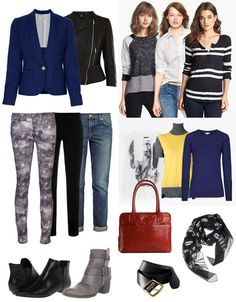 creaTing womens wardrobes mix and match | One Capsule, Many Outfits: Casual Wear for Fall - YLF