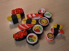 quilled sushi