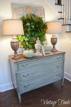 Distressed Buffet Table - Foter