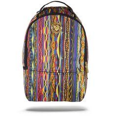 Livest One Backpack ($60) ❤ liked on Polyvore featuring bags, backpacks, rucksack bag, skull backpack, skull bag, gold bag and backpack bag