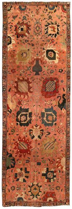 Antique Persian Tabriz Carpet, late 19th century