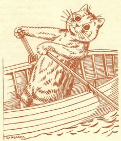 Louis Wain illustration