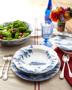 "Juliska Delft-Blue ""Country Estate"" Dinnerware - Neiman Marcus"
