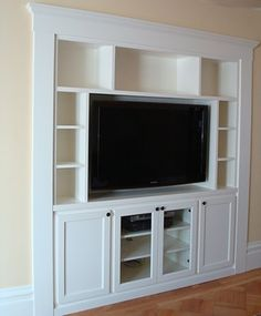 Built-In Media Cabinet by Case & Space on Houzz