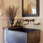 concrete sink….I could make this!