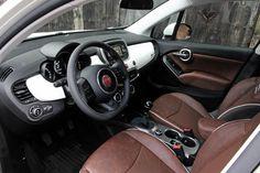 Interior Fiat 500X 1.4 Turbo MultiAir Lounge #fiat #minisuv