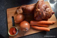 Fasole cu ciolan afumat reteta nationala de 1 Decembrie   Savori Urbane Sausage, Pasta, Food, Sausages, Essen, Meals, Yemek, Eten, Chinese Sausage