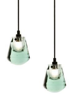glass 'bead' pendant lights tom dixon.