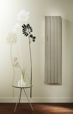 The Zehnder Roda (formerly Fassane) Vertical a simple and effect living room radiator. Flat Panel Radiators, Central Heating Radiators, Vertical Radiators, Home Decor Bedroom, Living Room Decor, Bedroom Ideas, Kitchen Radiator, Door Fittings, Living Room