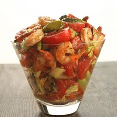 Bloody Mary Tomato Salad: May have to bring this one to Mardi Gras!!