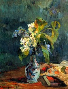 Lilac Bouquet Paul Gauguin - 1885