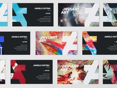 New Logo and Identity for DeviantArt by Moving Brands
