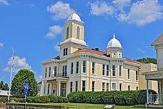 Lewis County Courthouse - Built 1886 - Weston, WV