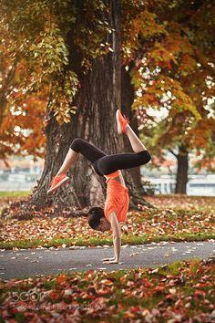 Gymnastics Outdoors - II by LeFu