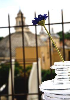 Vaso monofiore Lady Clay. #design #plexiglas #madeinitaly #designtrasparente #home #flower #flowerpot