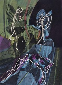 Saunders Fine Art: Stanley William Hayter ~ 1954