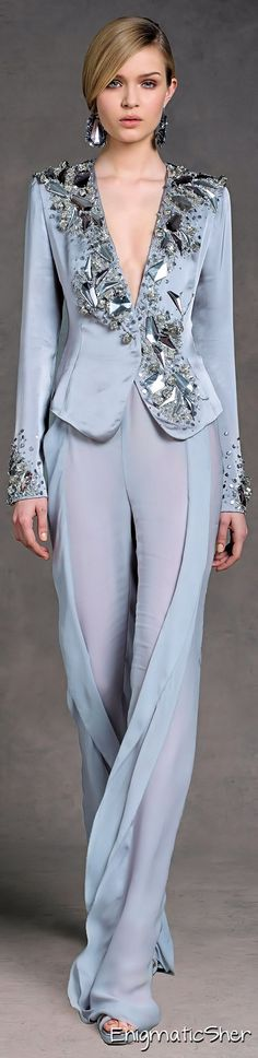 Donna Karan. I love this. So graceful and it can be a formal or a dynamite cocktail attire. Look at it closely, it's allure is subtle. ak