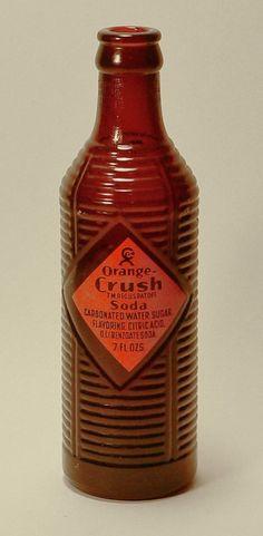 Vintage Orange Crush Soda Bottles Take a Ribbing - Print Magazine
