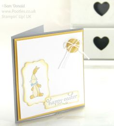 POOTLES Stampin' Up! UK Non Seasonal Stamping for a very Happy Easter! + Bonus Gift