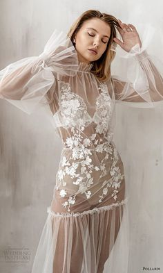 Bridal Boudoir, Bridal Robes, Pretty Outfits, Beautiful Outfits, Lingerie Outfits, Sheer Lingerie, Night Gown, Fashion Photography, Feminine