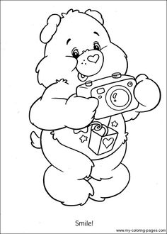 evil cear bears coloring pages - photo#21