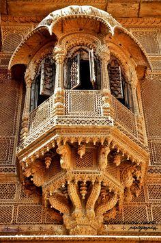 Haweli, Jaisalmar, Rajasthan, India