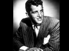Dean Martin (Dino Paul Crocetti) (June 1917 - December American actor, singer, comedian and songwriter. Dean Martin, Good Music, My Music, Music Life, Lyrics English, Jerry Lewis, Popular Music, Old Hollywood, Hollywood Style