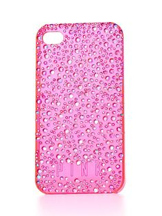 Pink bling iPhone case from Victorias Secret
