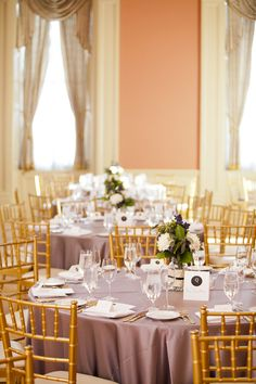 St Lawrence Hall Table Setting