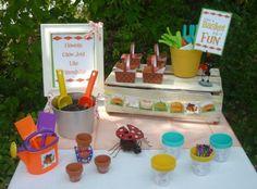 Cute picnic party idea