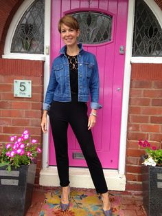Style Guile: A Topshop jumpsuit and a denim jacket...
