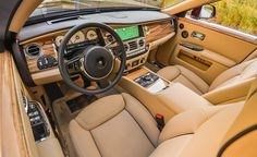 Toodle-Pipped: Rolls-Royce Ghost Series II Driven - Photo Gallery of First Drive from Car and Driver - Car Images - Car and Driver