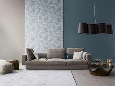 Sofá de tela ALL-ONE by Bonaldo diseño Sergio Bicego