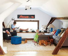 Unbelievable Attic remodel images,Attic renovation insulation and Attic bedroom with low ceiling. Attic Bathroom, Attic Rooms, Attic Spaces, Small Spaces, Attic Apartment, Bathroom Modern, Remodel Bathroom, Kid Spaces, Slanted Walls