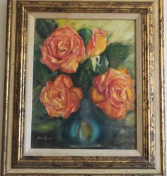 Oil Painting Signed A E Mcnight