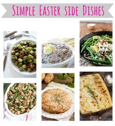 Simple Easter Brunch Recipes Simple 54 Ideas Effective Images That … – Special Recipes For Easter Easter Dinner Recipes, Easter Brunch, Brunch Recipes, Easter Food, Side Recipes, Easy Healthy Recipes, Easy Meals, Egg Recipes, Special Recipes
