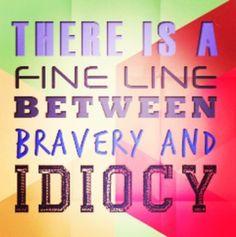A VERY fine line