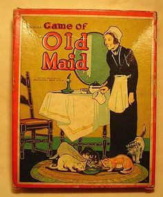 Old Maid | via Women and Cats will do as they please...