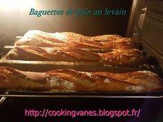 Baguettes de pain au levain d'Eric Kayser