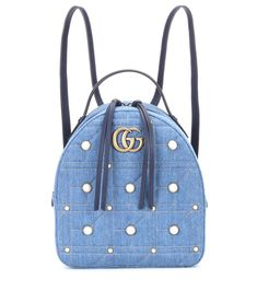 0d5cca33a6b07 Gucci Gg Marmont Embellished Backpack In Female
