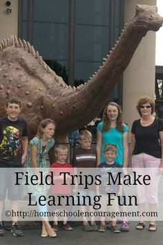 Get Out and Go! Field Trips Make Learning Fun from #Homeschool Encouragement